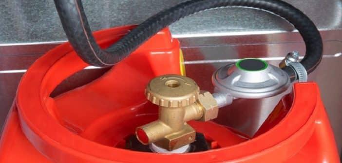 Comment changer une bouteille de gaz ?