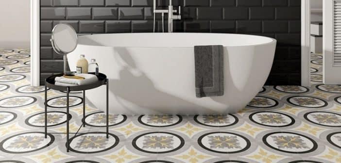Quel carrelage salle de bain Castorama choisir